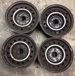 4x Mercedes Aluminum Wheel W113 W121 190 230 250 280 SL 113 6x14 spare parts