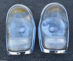 BOSCH HEADLIGHTS MERCEDES 220se 280se 3.5 coupe w111 W108 W109 W112