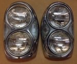 BOSCH HEADLIGHTS MERCEDES 220SE 280SE 3.5 Coupe W111 W108 W109 W112 US