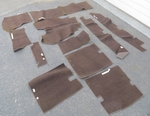 Brown rug fits mercedes 230sl 250sl 280sl 113 w113 63 to 71