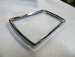 CENTER CLUSTER GAUGE CHROME BEZEL FITS 60'S 70'S MERCEDES BENZ W111 W113