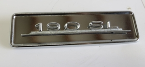 chrome radio delete plate for sale parts fits MERCEDES 190sl w121
