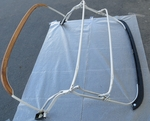 convertible top softtop frame for 190 sl MERCEDES 190sl W121
