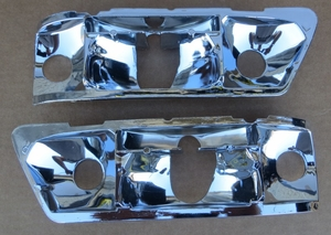 Early style left & right W111 W113 280 SE 3.5 Coupe Right Mercedes Tailight Reflectors Replacement