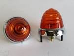 Front amber turn signal light fits mercedes 190sl 190 sl w121 ponton 356 Porsche