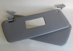 GREY PAIR OF SUNVISORS WITH CLIPS fits MERCEDES SL W107