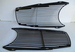 NEW BLACK GRILL SCREEN FITS MERCEDES W113 280SL PAGODA