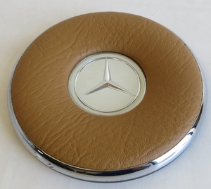 RESTORED MERCEDES HORN PAD FITS W113 W111 1962-1967