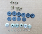 Horse shoe molding screw kit W113 230 250 280SL