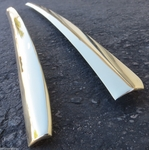 Left and Right top of door original brass molding for Mercedes 190sl w121