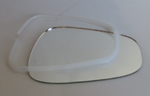 Mirror glass & retainer 220se 230sl 190SL 250sl w121 w111 w113