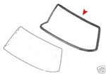 New Windshield Seal Fits Mercedes W111 220 250 280SE Coupe