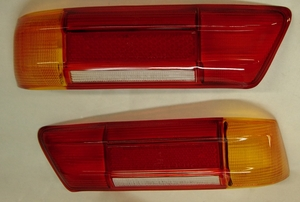 NEW REPLACEMENT TAILLIGHT LENS AMBER STYLE FITS MERCEDES W113 230SL 250SL 280SL W111 220SE 280SE 3.5 COUPE