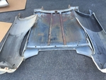 MERCEDES 3PC Low Grille style Hood L&R Fenders Cabriolet Coupe 280se w111 3.5
