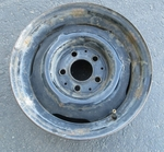 Mercedes 6x14 steel Wheel W113 W121 190 230 250 280 SL 113 spare parts