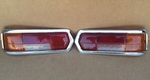 MERCEDES W108 280SE W109 300SE NEW TAIL LIGHT Lens & CHROME SEDAN 4 DOOR