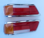 NEW Pair early style taillights for mercedes 230SL 250sl 280sl w113