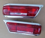 NEW red Pair early style taillights for mercedes 230SL 250sl 280sl w113