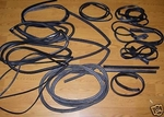 New reproduction rubber seals mercedes 230sl 280sl 113 w113 63 to 71