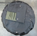 NEW SPARE WHEEL COVER MATCHING TOOL BAG FOR MERCEDES W113 PAGODA SL PARTS