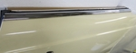 Outside Top of door chrome molding for 280sl w113 113 pagoda pagode mercedes