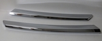 PAIR OF CHROME GRILLE BARS mercedes 280sl w113 113  pagoda
