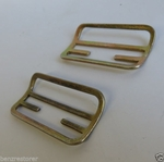 PAIR OF SHOULDER AND LAP KANGOL SEAT BELT HANGERS FOR MERCEDES W113 W111 W109