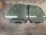Rear quarter windows with Mechanism 220SE 250SE 280SE Coupe W111 3.5 W112 Mercedes