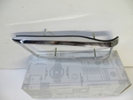 RIGHT mercedes W112 280se w111 3.5 coupe convertible tail light chrome bezel NOS