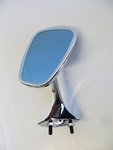 RIGHT SIDE VIEW MIRROR CHROME SHORT STYLE FITS MERCEDES 190sl w121 Convertible
