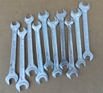 Used size 10 and 8 MBZ combo wrench