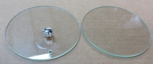 Speedometer and Tach glass with chrome knob NEW for W121 190 SL