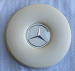 NEW IVORY STEERING WHEEL HORN PAD FITS MERCEDES W108 W109 W111 W113 W114 W115