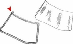 Windshield Seal, 230SL 250SL 280SL 63-71 W113