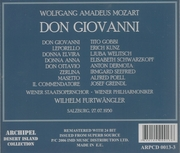 Don Giovanni (Furtwangler;  Gobbi, Welitsch)  (Archipel 0013)