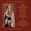 Don Giovanni - TWO Performances (Szell; Pinza, Steber) (4-IPCD 1059)