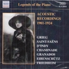 Legends of the Piano  (Naxos 8.112054)