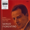 Sergio Fiorentino  -  Early Recordings  (10-Piano Classics 0104)