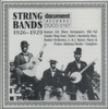 String Bands, 1926-29       (Document DOCD-5167)