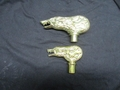 Brass Wolfman Cane - Original Actual Size or Small Hand...in stock