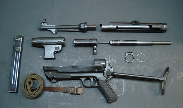 MP40 Complete Parts Set with Cut Receiver Section and Sling..All Matching Numbers ..Available..Now