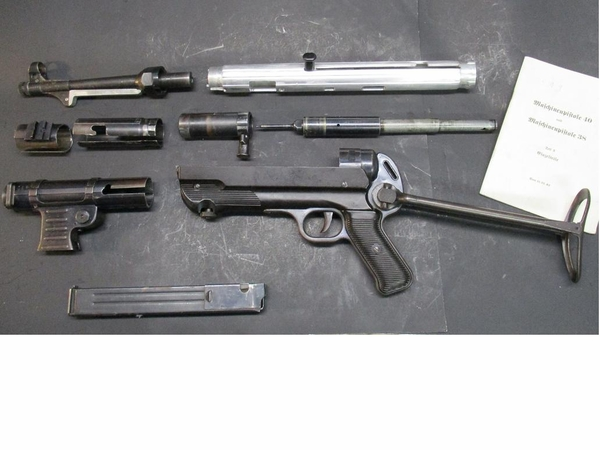 MP40 Original Parts Set mp 40 with Dummy Receiver..LAST ONE ...GREAT PRICE