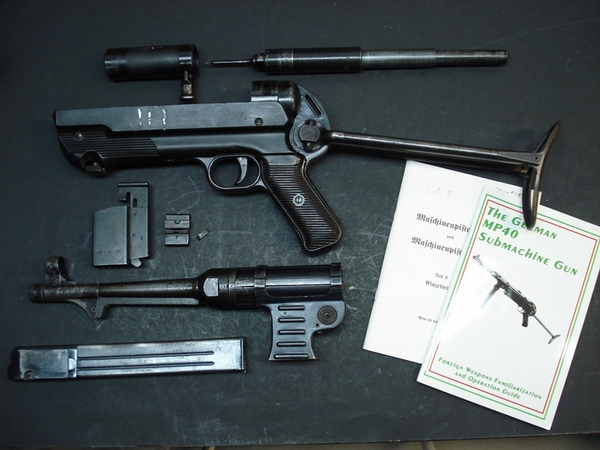 Mp40 All Matching Numbers Parts set Rated Ex Quality...sorry sold
