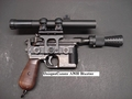 Star Wars Han Solo ANH DL-44 High Bull Barrel Quality Blaster..SPECIAL ORDER
