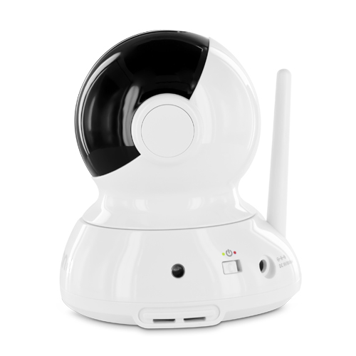 additional pan tilt zoom camera for astra baby video monitor with invisible. Black Bedroom Furniture Sets. Home Design Ideas