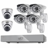 CONNECTED� 8CH H.264 1 TB Smart Security DVR  with 4 Ultra cams /2 Dome Cameras and Smart Phone Compatibility