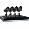 Defender� BlueLine� 8CH Security DVR with 500GB of Storage Including 4 Surveillance 600TVL Cameras with 75ft Long-Range Night Vision and Remote Smart Phone Viewing