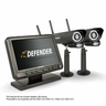 "Defender® PHOENIXM2 Digital Wireless 7"" Monitor DVR Security System with 2 Long Range Night Vision Cameras and SD Card Recording"