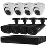 Defender Sentinel Pro Widescreen 8CH Security DVR with 2TB HDD Including 4 Surveillance 800TVL Dome Cameras and  4 Surveillance 800 TVL Bullet Cameras with 48IR LEDs (21327)