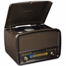 Electrohome� Signature� Retro Hi-Fi Stereo System with Record Player, CD, MP3 CDs, MP3, and Input for Smartphones, Tablets, and MP3 players AM/FM, Vinyl-to-MP3